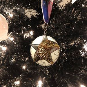 Medal for America hallmark Christmas ornament